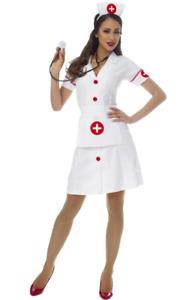 Costume Culture Women's Classic Nurse Costume, White, Medium