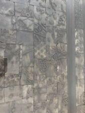 Couchtisch - alter Stempeltisch Echtholz braun