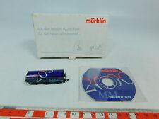 AU586-0,5# Märklin mini-club Scala Z/DC Carro merci Millennium 2000, s.G OVP