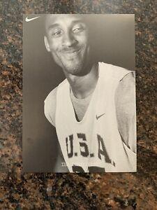 RARE Nike Los Angeles Lakers KOBE BRYANT Team USA Olympic Basketball 5x7in