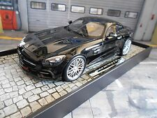 MERCEDES BENZ BRABUS 600 GT3 GTS Coupe black schwarz Resin Minichamps 1:18