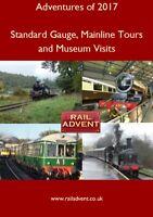 Railway BluRay - Adventures of 2017 – Standard Gauge, Mainline & Railway Museum