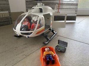 playmobil rettungshelikopter 6686