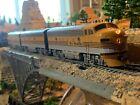 HO Scale Stewart F7A F7B DCC w/Sound triple Diesel Locomotive Rio Grande D&RGW