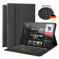 """DEUTSCHE Tastatur für iPad Pro 11"""" 2018 QWERTZ Tastatur Schutzhülle Leder Case"""