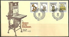 Bophuthatswana - FDC 1.22 Geschichte des Telefons (II) 1982 Mi. 92-95