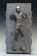 STAR WARS HAN SOLO CARBONITE BLOCK POWER OF THE FORCE COLLECTION POTF2 LOOSE