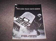 Vintage Snowmobile Polaris 1984 Long Track Parts Manual Original Not A Copy