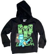 MINECRAFT Hoodie Kapuzensweatshirt Jungen + Mädchen Mining Gr. 116 Neu