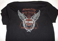 NEW SM Small Womens Harley Davidson Short Sleeve V-neck I Ride My Own Black Tee
