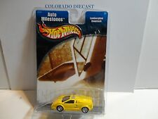 Hot Wheels Auto Milestones Yellow Lamborghini Countach