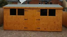 GARDEN WOODEN SHED 13MM SHIPLAP TONGUED AND GROOVED