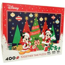 Disney Mickey and Minnie Mouse Together Time 400 Piece Puzzle Christmas Gift