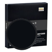 ZOMEI 58mm 10-stop Ultra Slim HD ND1000 Optical Glass Neutral Density Filter