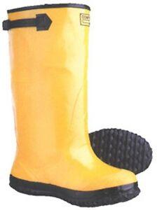 YELLOW RAIN WORK SAFETY SLUSH BOOTS Sizes 6 thru 17 COMFI-WEAR