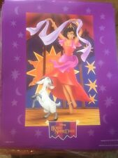 Disney Hunchback Of Notre Dame Dancing Esmeralda Poster New