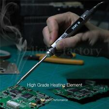 TS100 LCD Digital OLED Programable Interface DC5525 Soldering Iron Station STM32