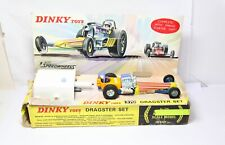 Dinky 370 Dragster Set In Its Original Box - Near Mint Vintage Model