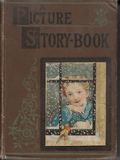 A Picture Story Book - Vintage 19th Century - 400 Illustrations Victorian Artist
