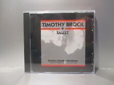 Faust [Original Soundtrack] by Timothy Brock (CD, 1995, K Records) Brand New