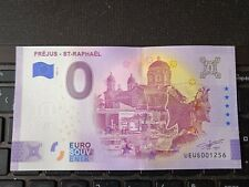 BILLET EURO SOUVENIR 2021-1 FRÉJUS ST RAPHAËL