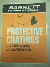 Barret/Allied Chemical Corp Catalog~Protective Coatings/Elastigum~Asbest os~1961