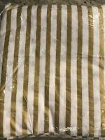 Pottery Barn Teen Emily & Meritt Reversible Metallic Dot Stripe F/Q Duvet Cover
