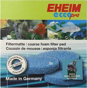 Eheim AEH2616310 Filter Course Foam Pad Ecco Pro for Aquarium Blue 3 pack