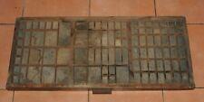 Vintage Wooden Typecase Tray Draw Letterpress printer # adana  8x5 user #