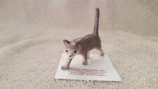 Hagen Renaker Cat Walking Figurine Miniature Nice Gift New Free Shipping 03078