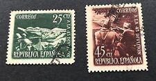 Spagna 1938 usati in onore della divisione in scala 1/43 SG 858/9