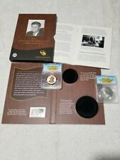 2015  JFK coin chronicles set, ANACS REV PROOF 70- ANACS  SILVER MEDAL 70