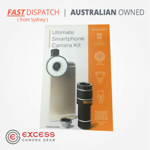 Cocoon Ultimate Smartphone Camera Kit - Telescopic, Fish-Eye, Macro Lens