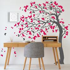 01448 Wall Stickers Adesivi Murali parete decoro muro piante Alberi 190x210 cm