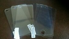 3x screen protector iphone 4/4s plus back protector