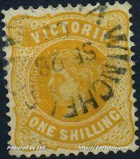 VICTORIA CONFEDERATION AUSTRALIENNE N° 124 AVEC OBLITERATION