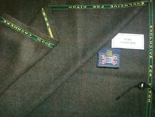 Kiton 100% CASHMERE (WOOLLEN/WORSTED) JACKETING, SUITING FABRIC =1.9+1.28=3.18 m