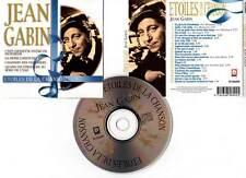 """JEAN GABIN """"Etoiles De La Chanson"""" (CD) 22 Titres 1999"""