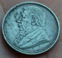 Afrique du Sud. 6 Pence 1897 Paul Kruger