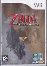 Nintendo WII • The Legend of Zelda Twilight Princess TRIANGOLO BLU PRIMA ED NEW