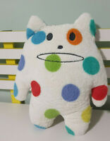 CRAFTHOLIC WHITE SPOTTY CAT CHARACTER TOY 44CM!