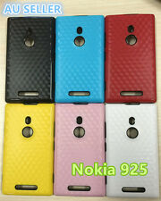 NEW Nokia Lumia 925 Water Pattern Slim Soft Silicone Rubber Gel Back Cover Case