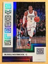 2017-18 Panini Status RUSSELL WESTBROOK Status Symbols 10 Thunder Rockets NBA