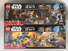 Lego Star Wars Sets 66556, 66555 (New)