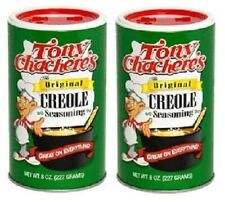 Tony Chachere's Original Creole Seasoning Chacheres 2 Canister Pack