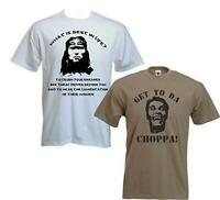 Best in Life Get to the Choppa T-Shirt Double Pack - funny retro sci fi Arnie