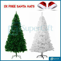 Christmas Tree Colorado Spruce 5ft 6ft 7ft Metal Stand Xmas Bushy Pine Branches