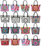 Indian Suzani Shoulder Bag Embroidered Cotton Women Bag Boho Handmade Tote Bag