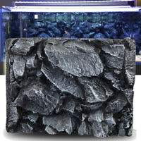 3D Stone Aquarium Background Home Fish Tank Backdrop Reptile Boards