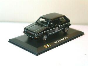 Burago VW GOLF MKI GTI BLACK Scale 1/32